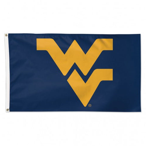 NAVY 3X5 POLE FLAG W/GOLD WV