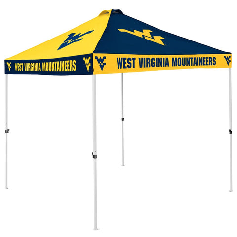 WEST VIRGINIA 9' X 9' CHECKERBOARD TAILGATING CANOPY