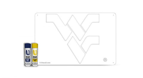 "West Virginia ""WV"" – Tailgater Stencil Kit"