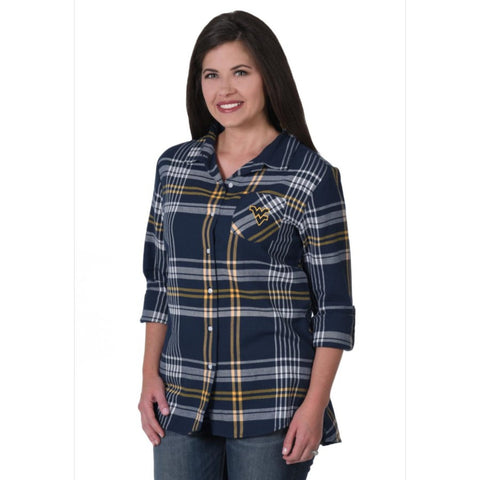 UG APPAREL BOYFRIEND PLAID