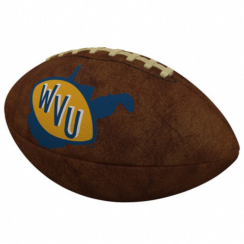 WEST VIRGINIA OFFICIAL-SIZE VINTAGE FOOTBALL