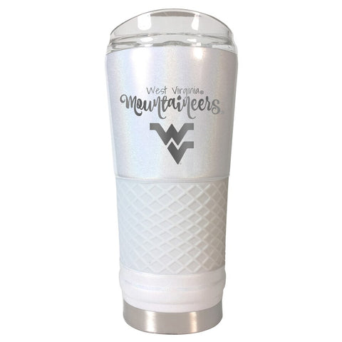 WEST VIRGINIA WHITE 24 oz OPAL DRAFT TUMBLER