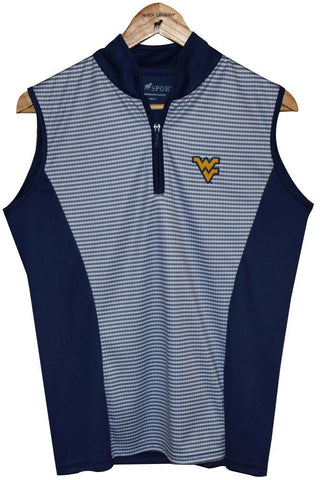 WOMENS HORN LEGEND NAVY POLO VEST