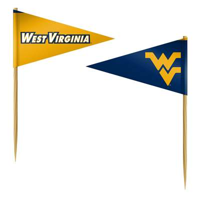 WEST VIRGINIA FAN-PICKS FLAGS- 36 PACK