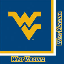 WEST VIRGINIA NAPKINS NAVY