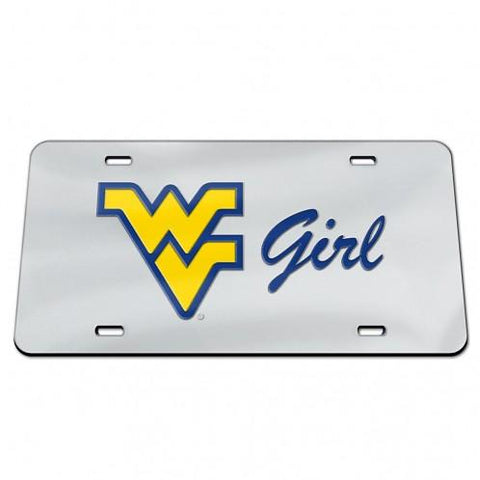 WV GIRL LICENSE PLATE