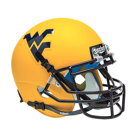 WVU REPLICA GOLD HELMET