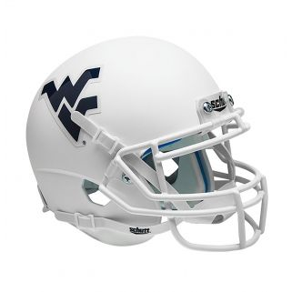 WVU WHITE MINI HELMET
