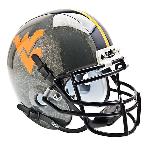 WVU METALLIC GREY MINI HELMET