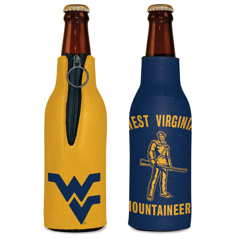 BOTTLE KOOZIE WV MOUNTAINEERS