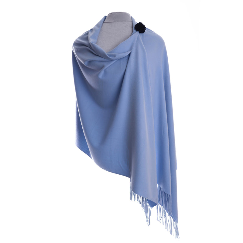 Annie Pashmina Powder Blue