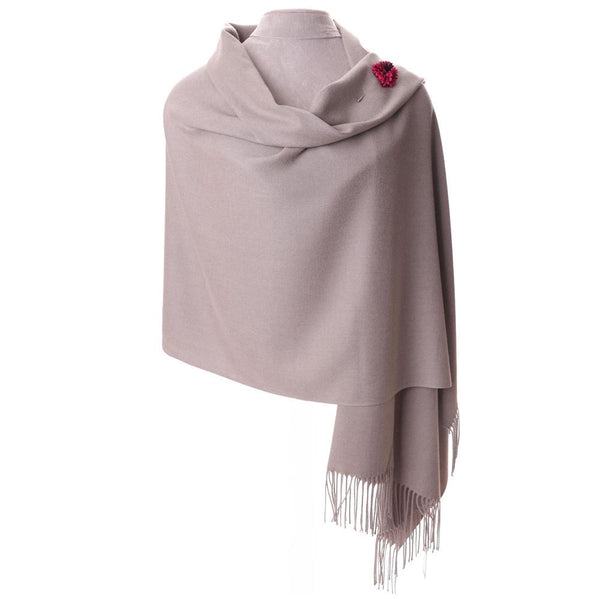 Annie Pashmina Light Grey