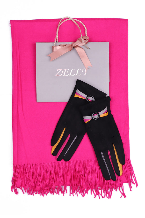Pashmina and Glove Gift Set