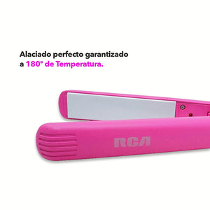 RCA Plancha para Alaciar | Placas de Cerámica / RCA Straight Hair Iron with Ceramic Plate