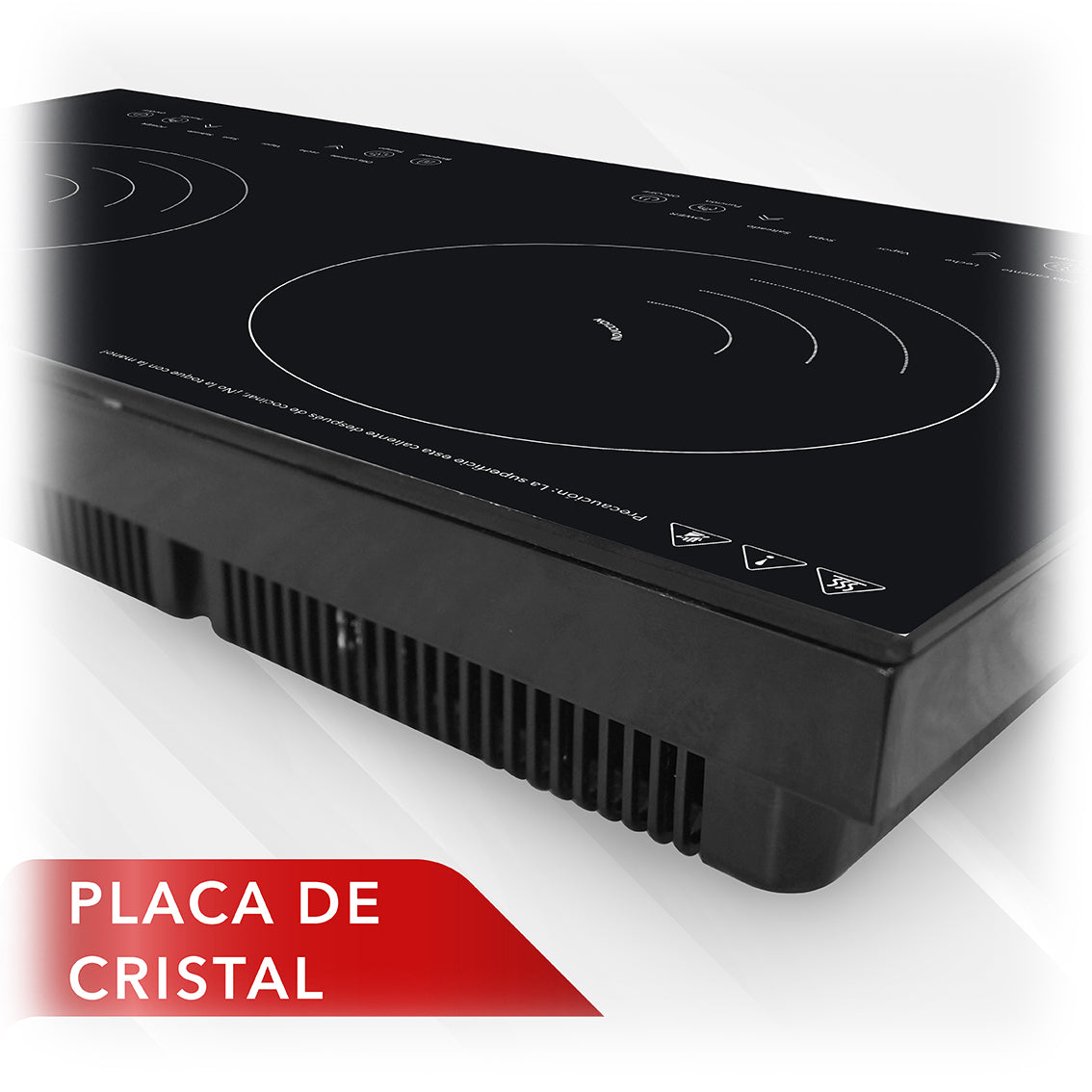 Parrilla de Inducción Doble RC-12A4