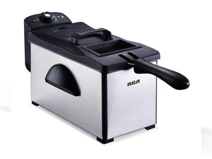 Freidora de Acero Inoxidable. / Stainless Steel Fryer.