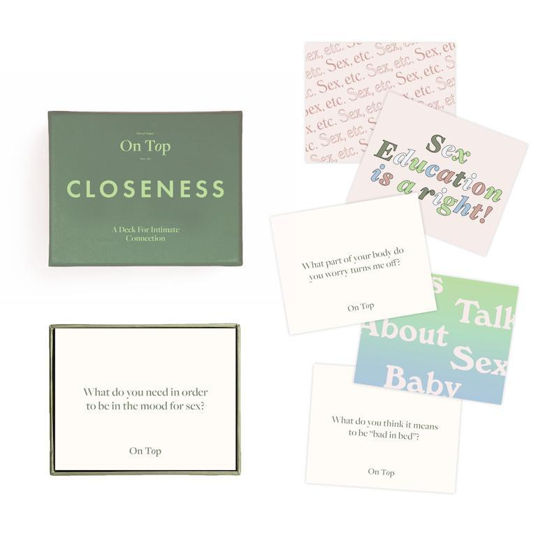 CLOSENESS: A CARD DECK FOR INTIMATE CONNECTION