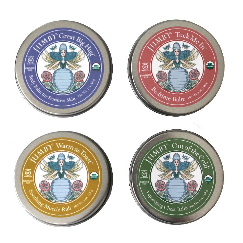 Organic Wellness Balm Bundle