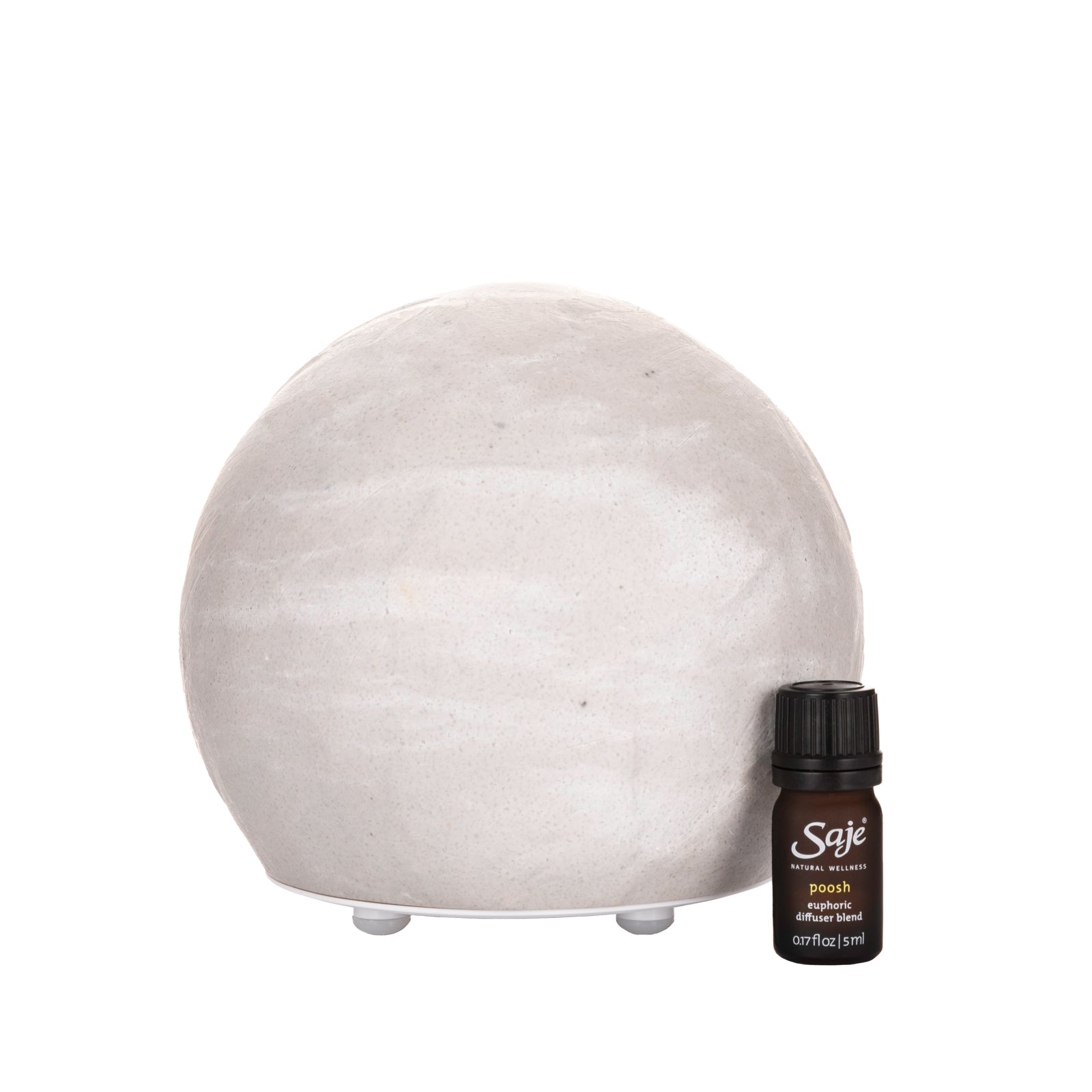 Positively Poosh Ultrasonic Diffuser Kit in White