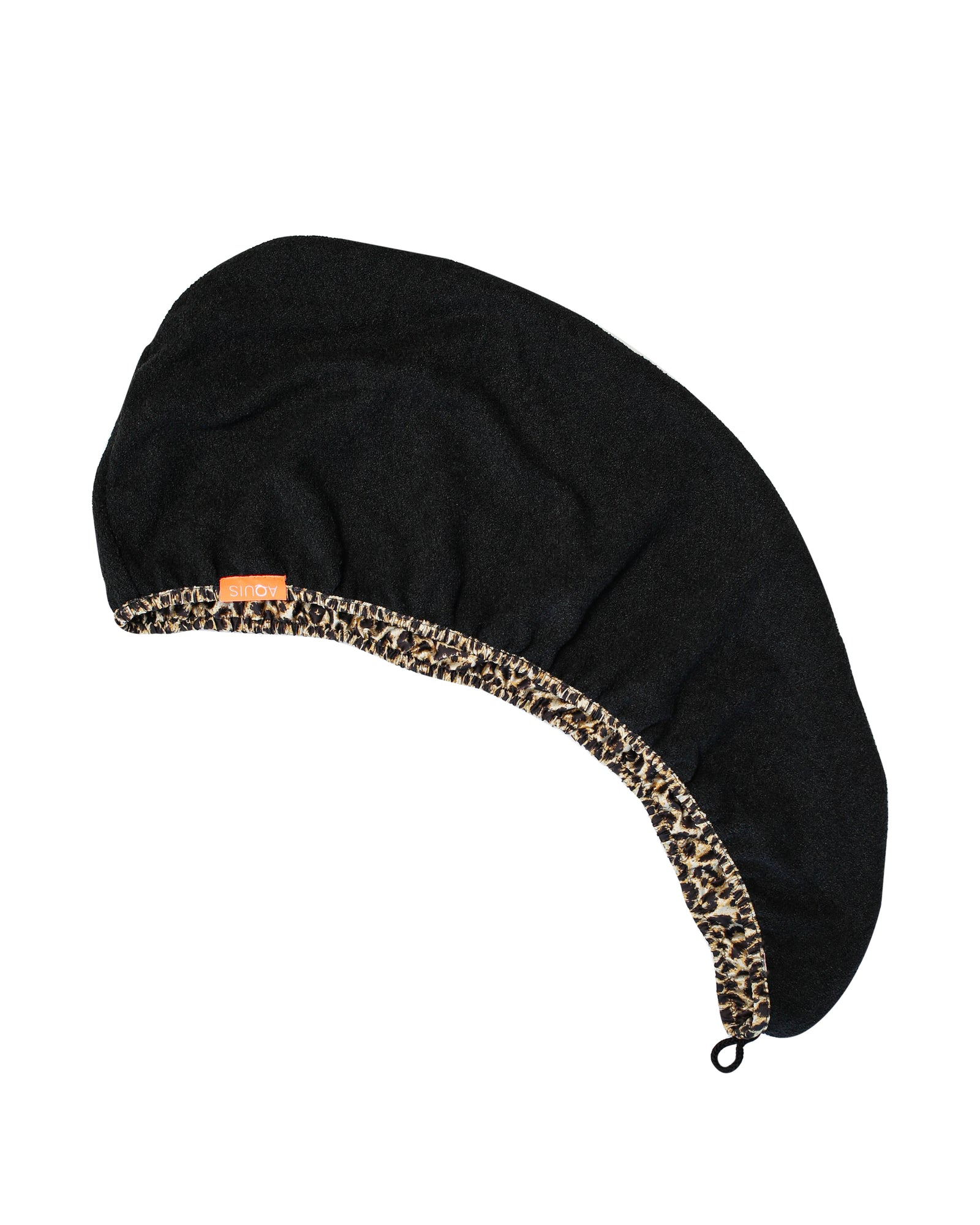 Rapid Dry Leopard Print Hair Turban