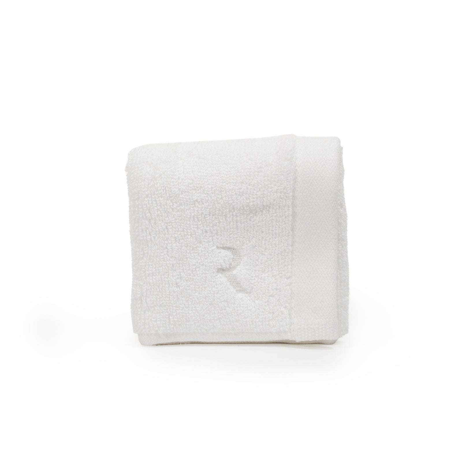 Face Towel - Single White