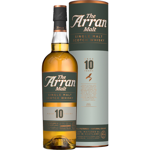 Arran 10years old Single Malt 700ml:SAKEMON