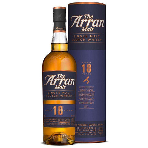 Arran 18 years old Single Malt Whisky 700ml:SAKEMON