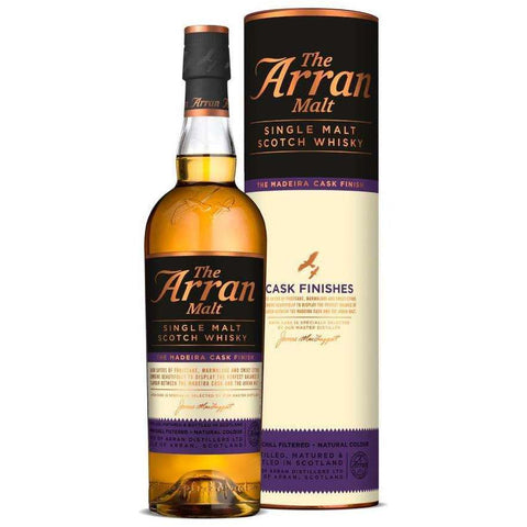 Arran Single Malt Madeira Cask Finish Whisky 700ml:SAKEMON