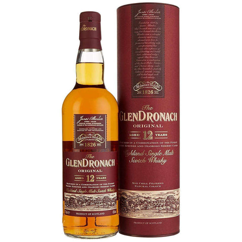 GLENDRONACH Original 12years Single Malt Whisky 700ml:SAKEMON