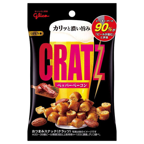 Japan Gratz Snack pepper bacon 42g x 10Bags:SAKEMON