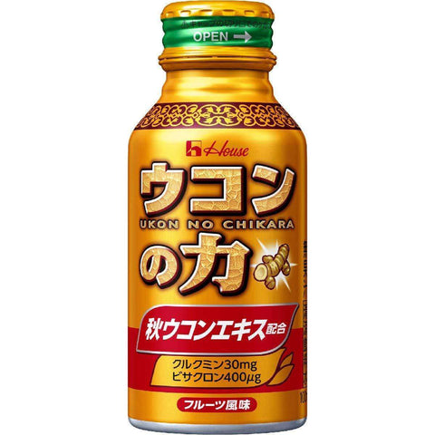 Japanese Popular Drink UKON NO CHIKARA 100ml x 6:SAKEMON