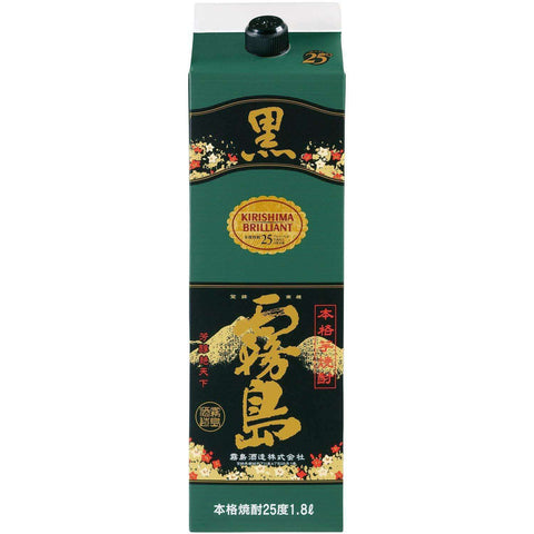 Kirishima kuro-kirishima Sweet Potato Shochu PACK 1800ml:SAKEMON