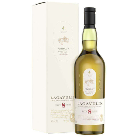 Lagavulin 8years old Single Malt 700ml:SAKEMON