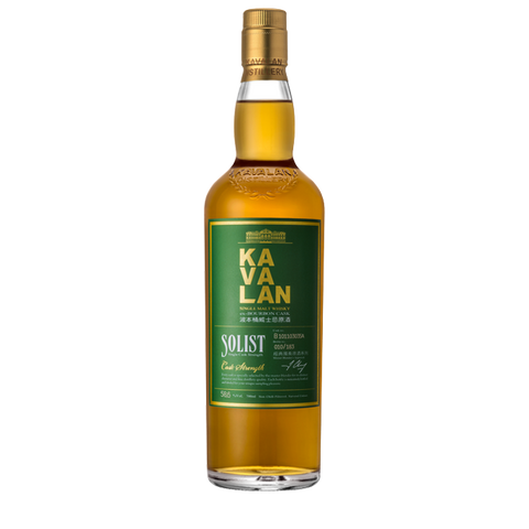 Kavalan Solist ex-Bourbon Single Cask Strength 700ml:SAKEMON
