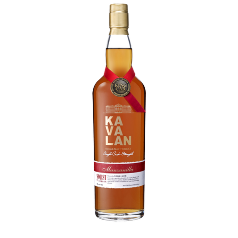 Kavalan Solist Manzanilla Sherry Single Malt Whisky 700ml:SAKEMON