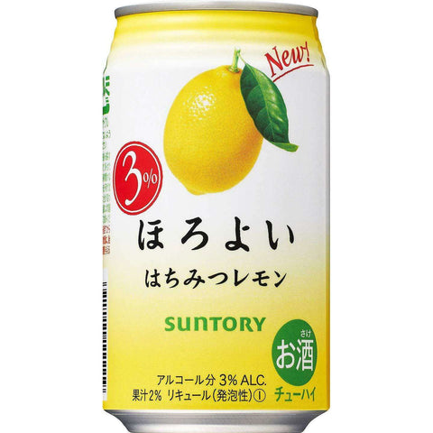 SUNTORY Horoyoi honey lemon 350ml:SAKEMON
