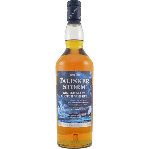 Talisker Storm Single Malt Whiskey 700ml:SAKEMON