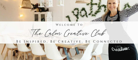 Calm Creative Club membership and online courses