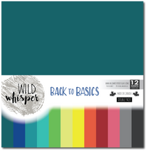 Load image into Gallery viewer, Wild Whisper - Back to Basics - 12x12 (Double Paper Pack)