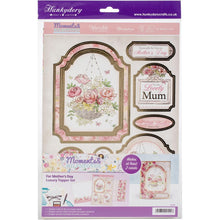 Load image into Gallery viewer, Hunkydory Garden Treasures Luxury A4 Topper Set