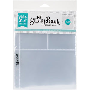"My Story Book Album Pocket Pages 6""X8"" 10/Pkg"