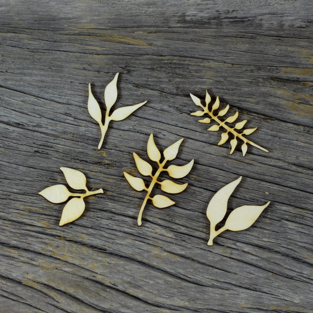 Wild Whisper - Wood Veneer - Leaves