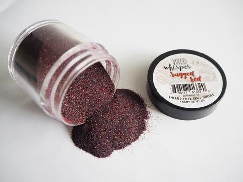 Wild Whisper Embossing Powder - Rugged Red