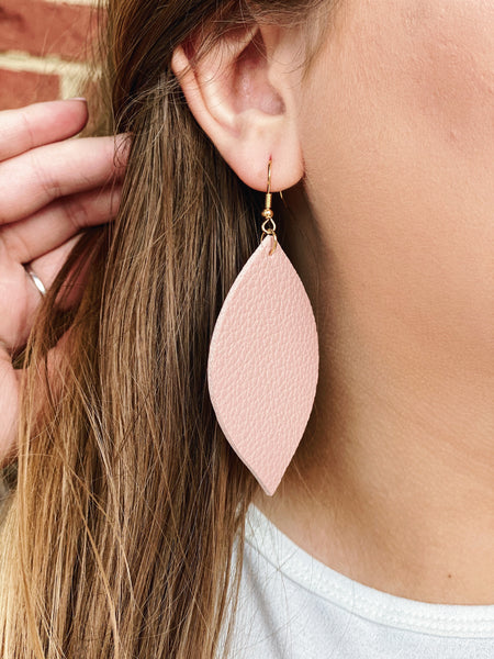 The Priscilla Leaf Drop Earrings