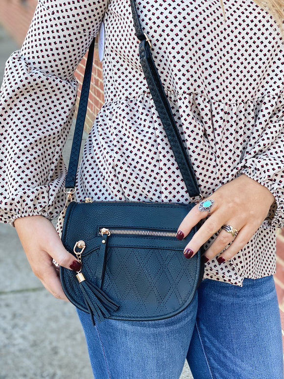 Classic Intuitions Purse in Black