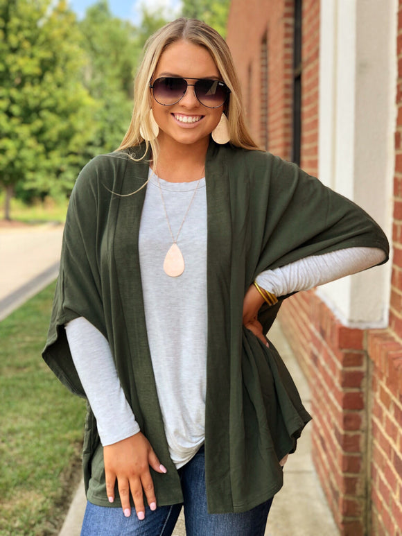Green With Envy Cardigan