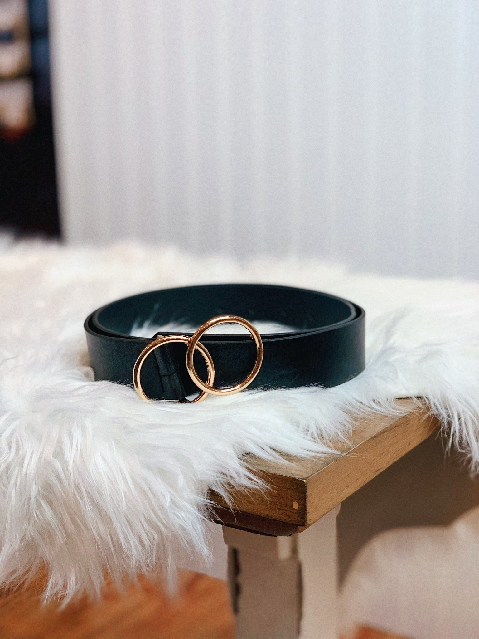 The Blossom Belt in Black