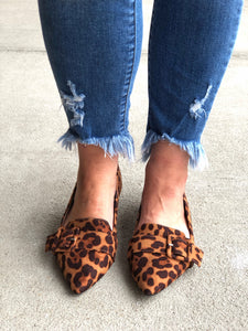 The Justfy Flat In Leopard