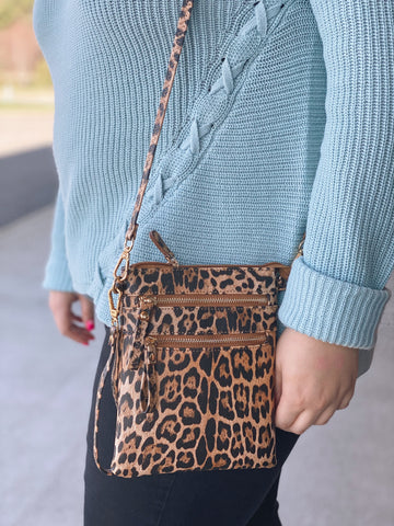 The Rebecca Leopard Crossbody