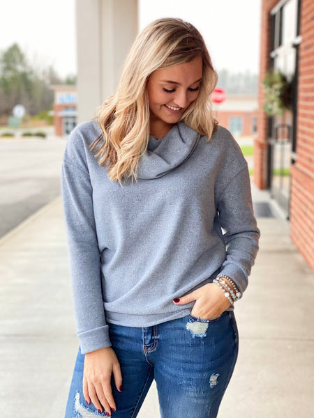 The Claire Sweater in Grey